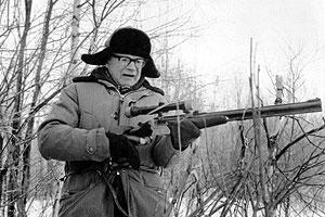 Kekkonen ei erityisemmin pitänyt ampumisesta. Kuva:
