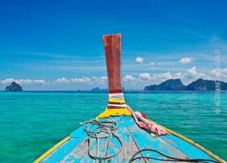 Thaimaa saarihyppely