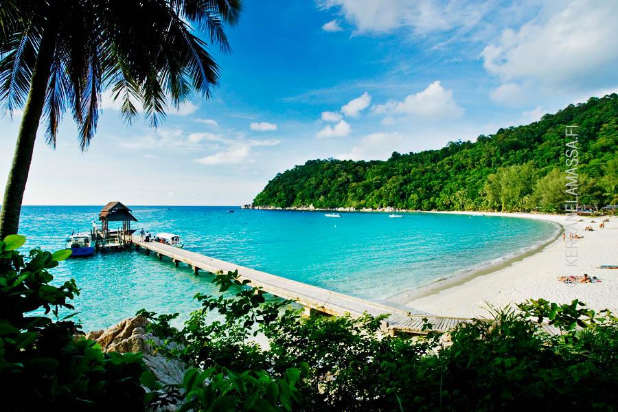 Pulau Perhentianin maisemia.