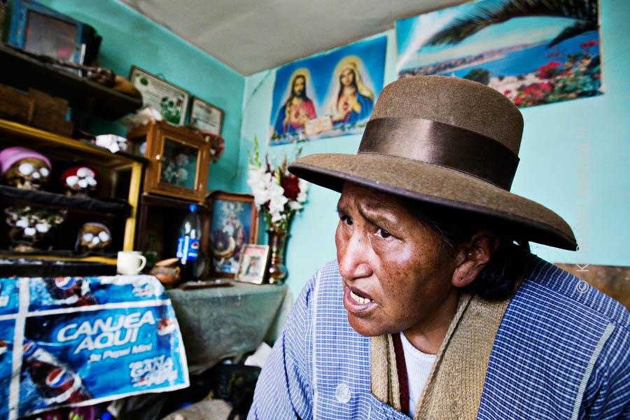 Aymara shaman