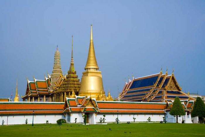 Bangkok Suuri palatsi