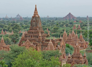 Baganin temppelit Myanmar