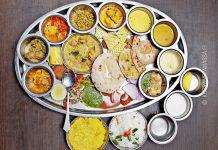 Intia delhi thali