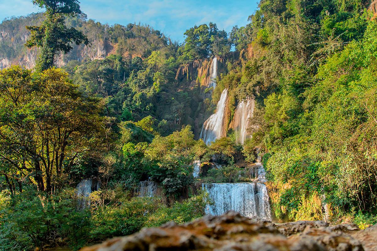 thaimaa umphang vesiputous