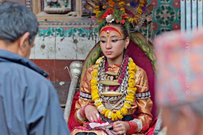 kathmandu kumari