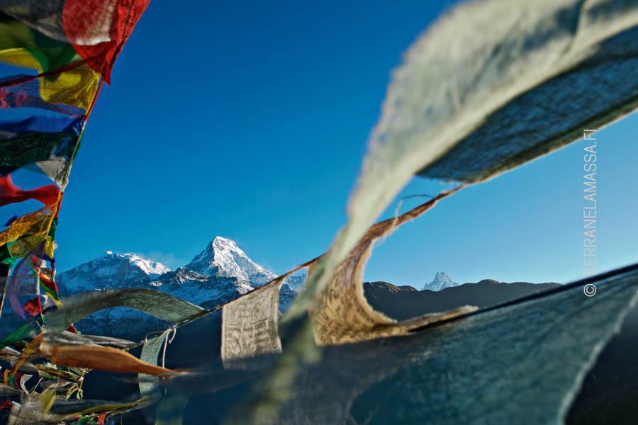 Nepal vuoret