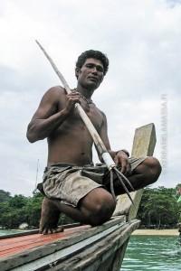 merimustalainen thaimaa