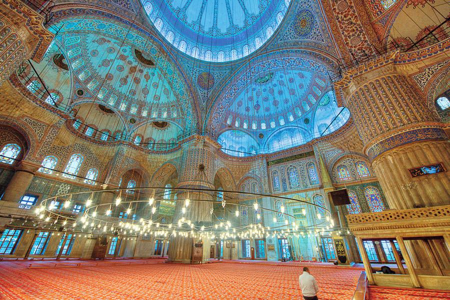 sininen moskeija istanbul