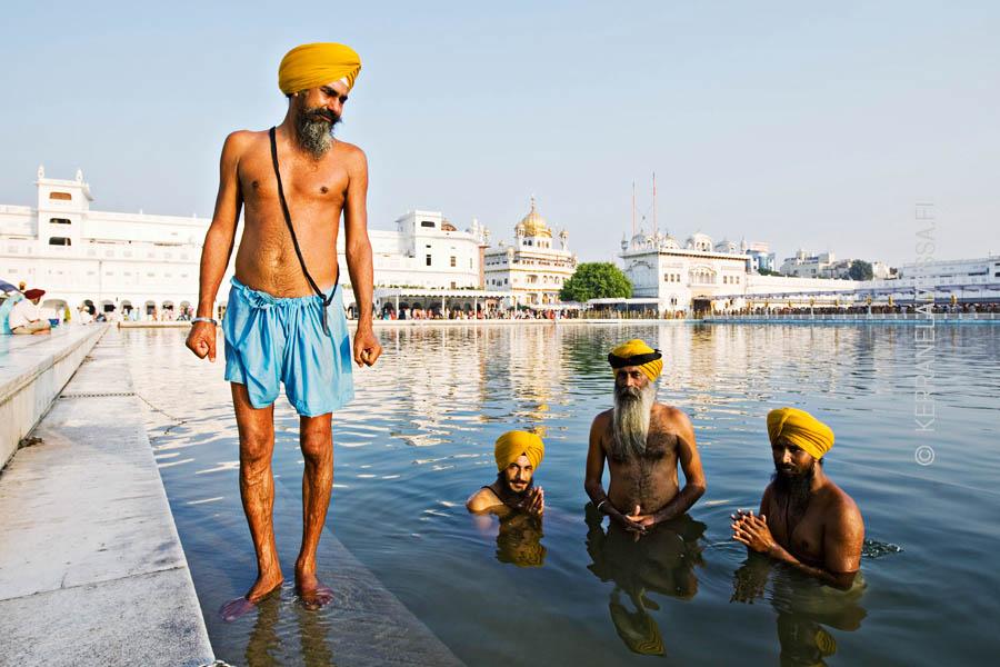 Sikhien pyhä kaupunki Amritsar on ikimuistoinen matkakohde.