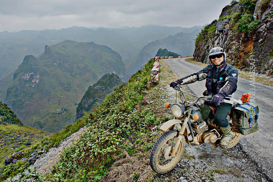 Ha Giang Vietnam / motorbike trip