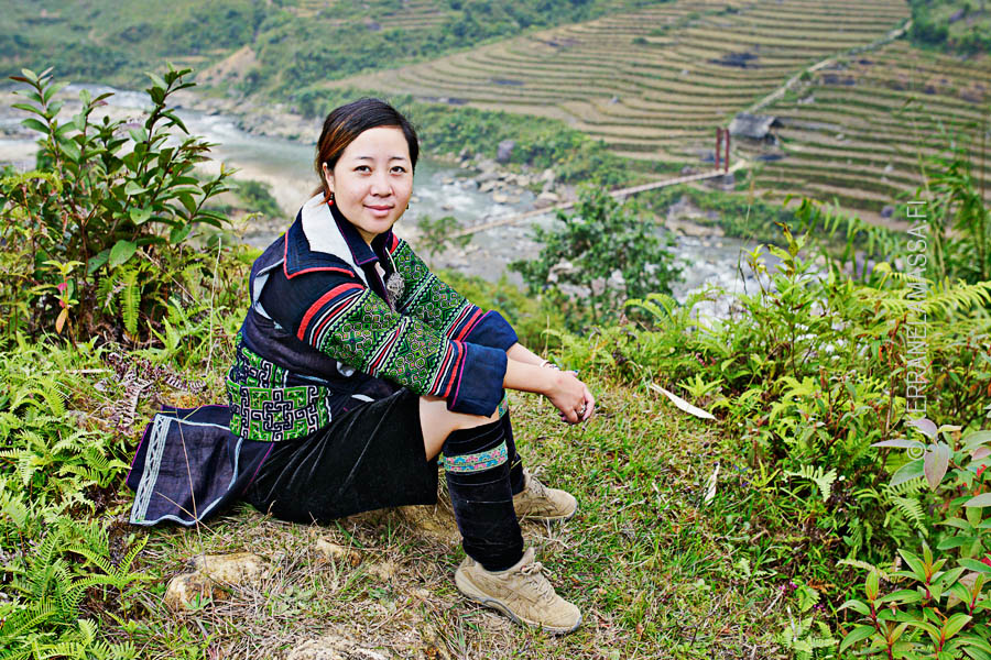 Pohjois-Vietnamissa vaelletaan etnisten vuoristokansojen mailla.