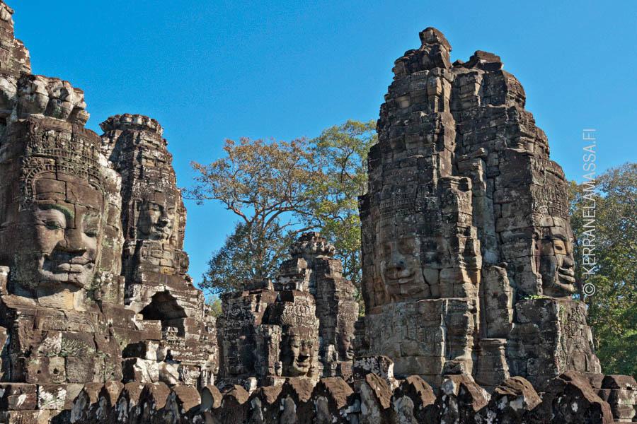 bayon-temppeli Angkor
