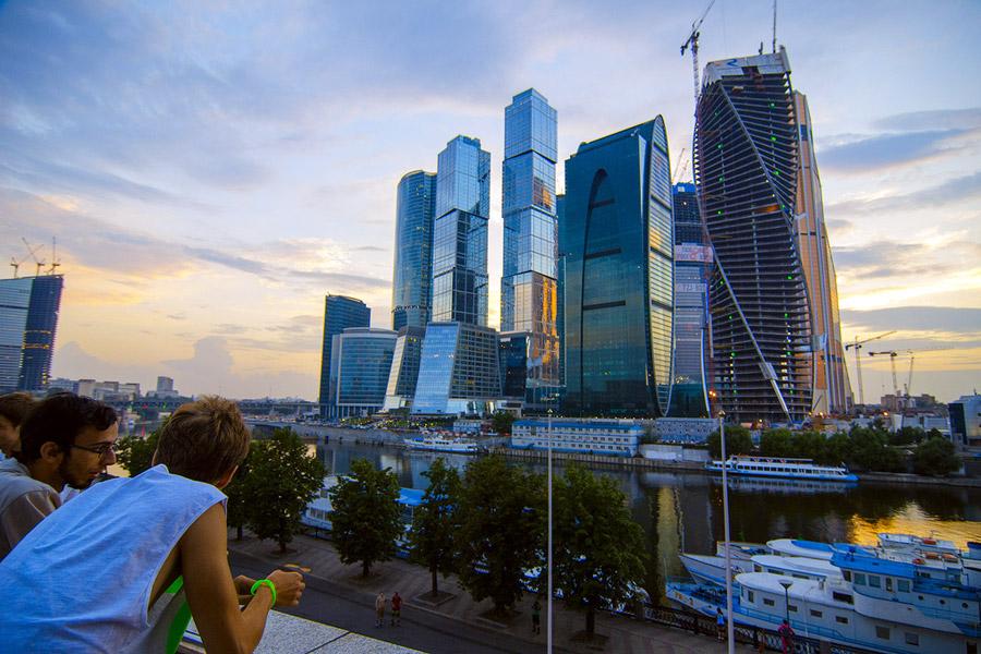 Moskova bisneskeskusta