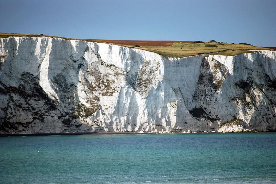 Via Francigena kohti Romaa alkaa Doverin valkoisilta kallioilta. Kuva: Harvey Barrison
