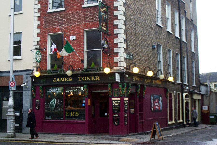 James Toner on Dublinin vanhimpia pubeja. Kuva Adam Brude, Flickr CC