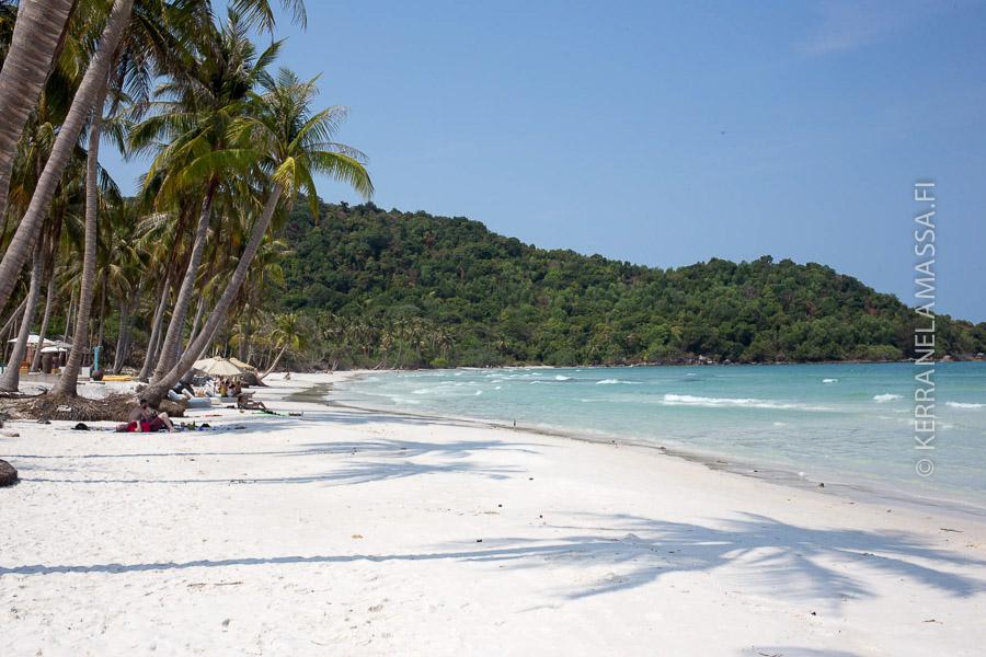 Phu Quocin rannat ovat Vietnamin kauneimmat.