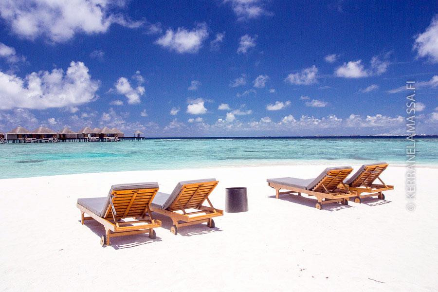 Malediivit on maailman upeimpia luksuskohteita.