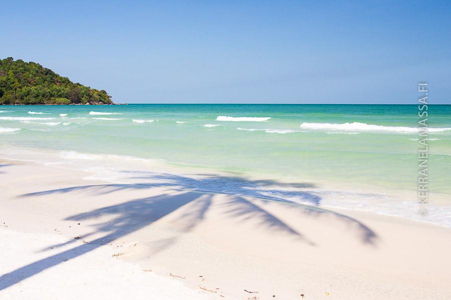 Phu Quoc on Vietnamin kaunein rantalomakohde.