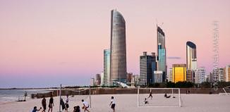 Abu Dhabi hiekkaranta