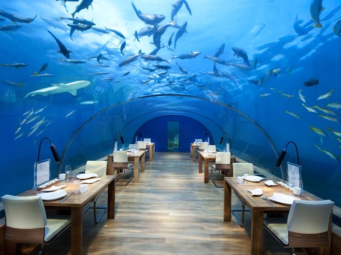 Malediivit vedenalainen ravintola