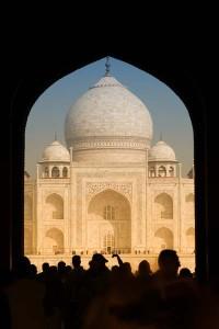 Taj Mahal on juuri niin kaunis kuin sen etukäteen odottaakin olevan.