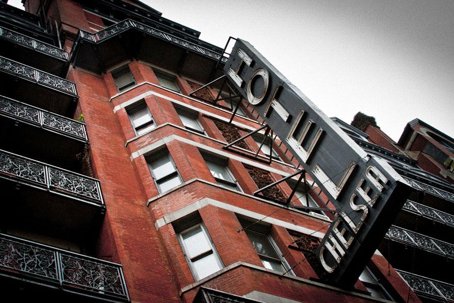 Chelsea Hotel. Kuva: Andrew Malone, Flickr CC