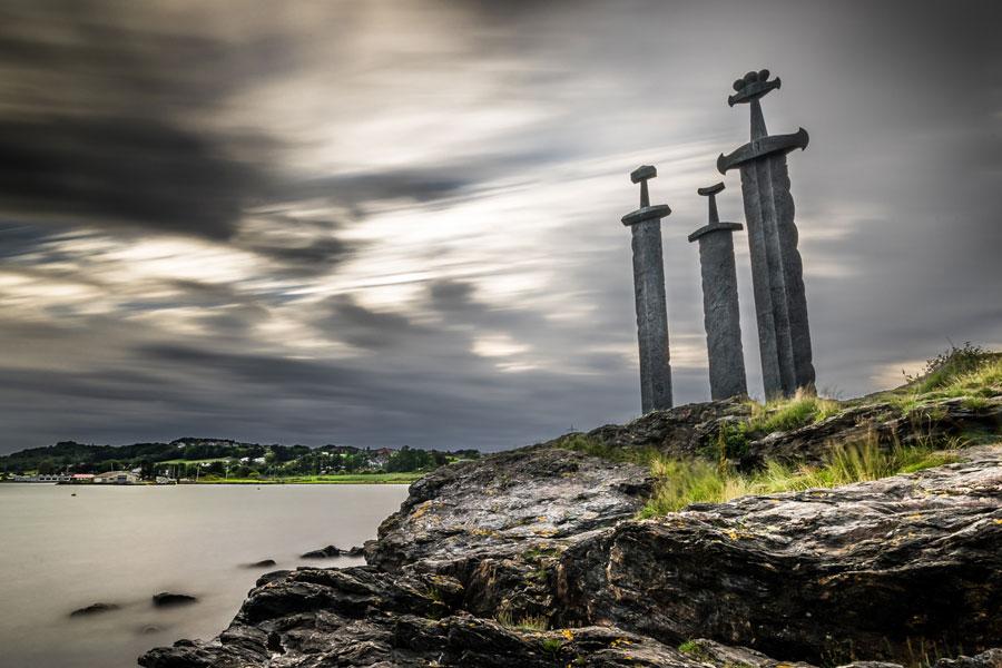 Norja Stavangerin miekat
