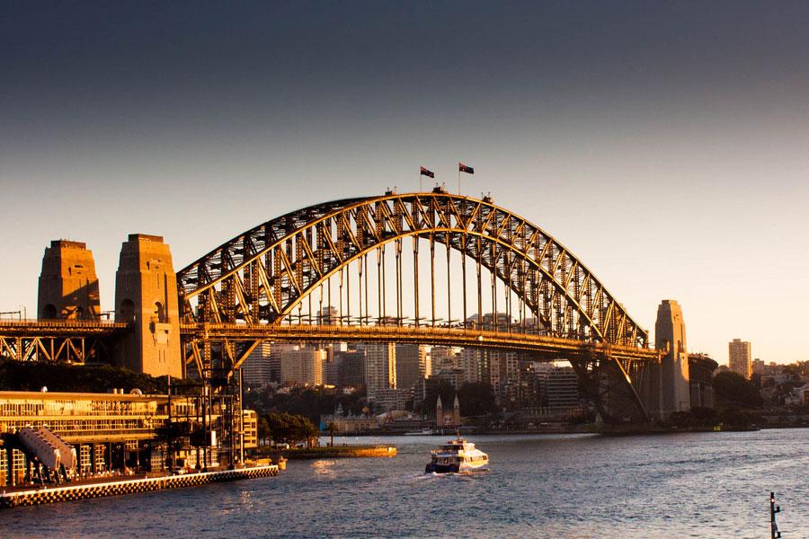 Sydney Harbour Bridge. Kuva: cortezopperman, flickr CC