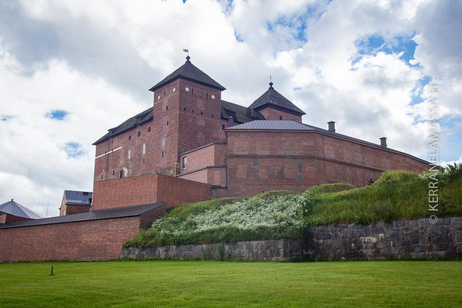 Hämeen linna on Suomen ainoa tiililinna.