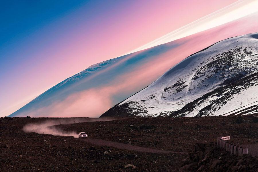 Havaiji Big Island Mauna Kea