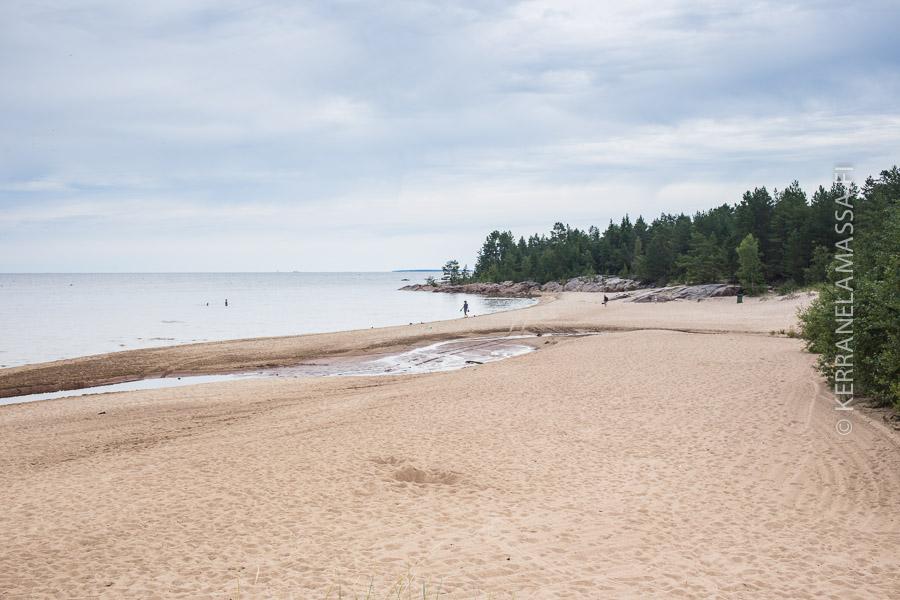 pietarsaari Fäbodan hiekkaranta