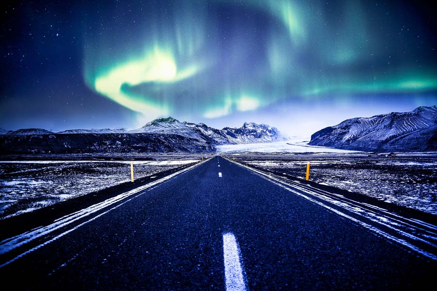 Islannin talvessakin on puolensa. Kuva: Andrés Nieto Porras, Flickr CC