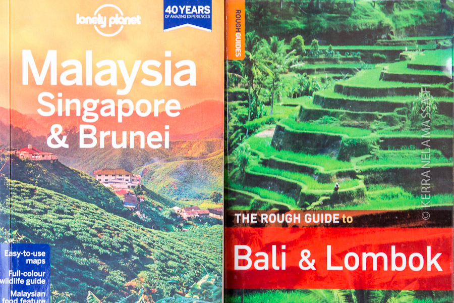 Kumpi on parempi matkaopassarja, Lonely Planet vai Rough Guide?