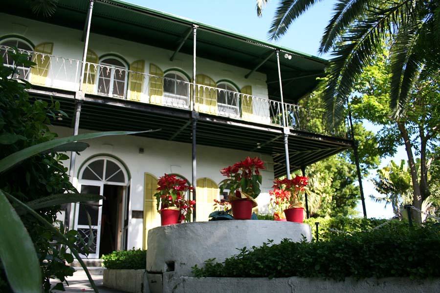 Hemingwayn talo Key Westissä.
