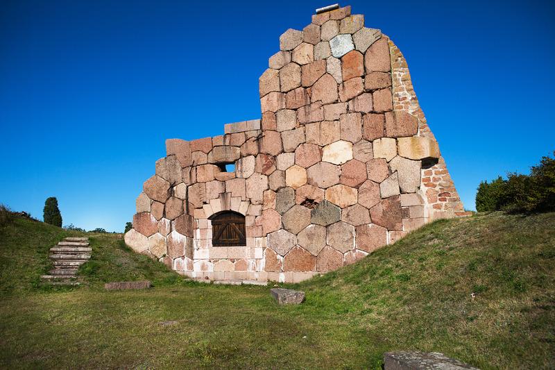 Bomarsundin linnoituksen raunioita. Kuva: Tiina Tahvanainen, Visit Åland