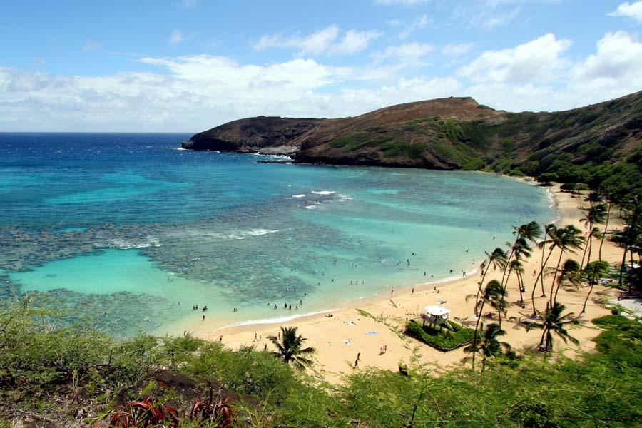 Hanauma Bay on Havaijin kuuluisimpia snorklauspaikkoja. Kuva: Prayitno, Flickr CC