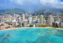 Havaijin Oahu Honolulu Waikiki Beach