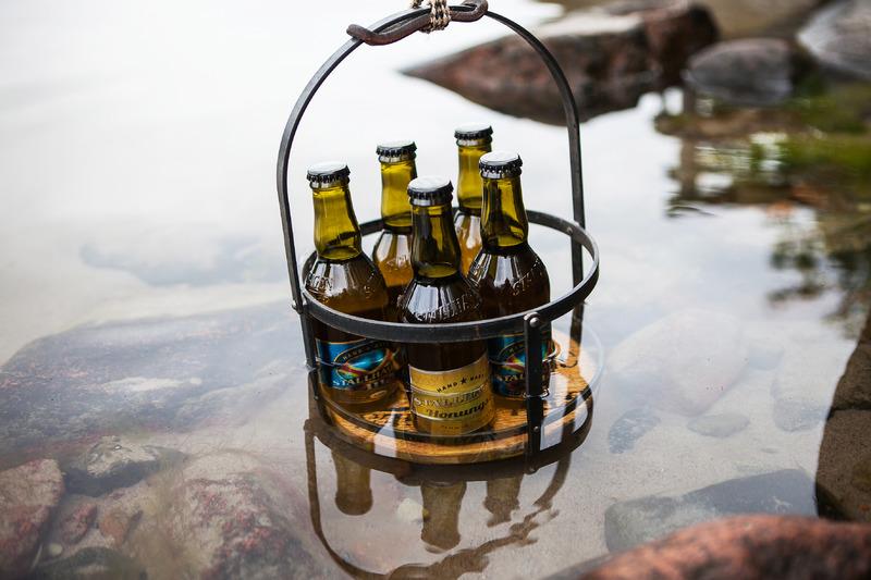 Kesä, Ahvenanmaa ja Stallhagen-olut kuuluvat yhteen. Kuva: Tiina Tahvanainen, Visit Åland