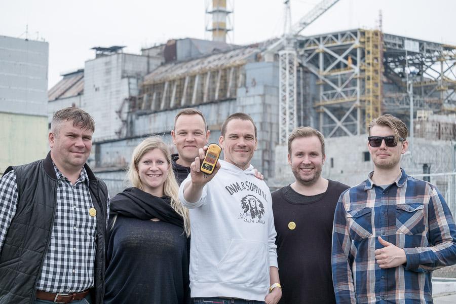 Säteilymittari on Tshernobyl-matkaajan paras kaveri.