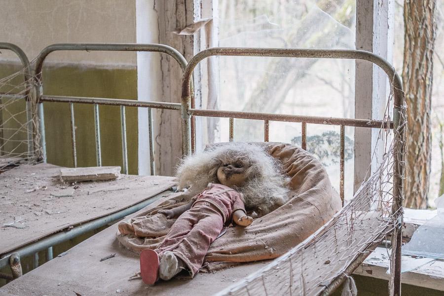 Tsernobylissä kuvat kertovat sanoja enemmän.
