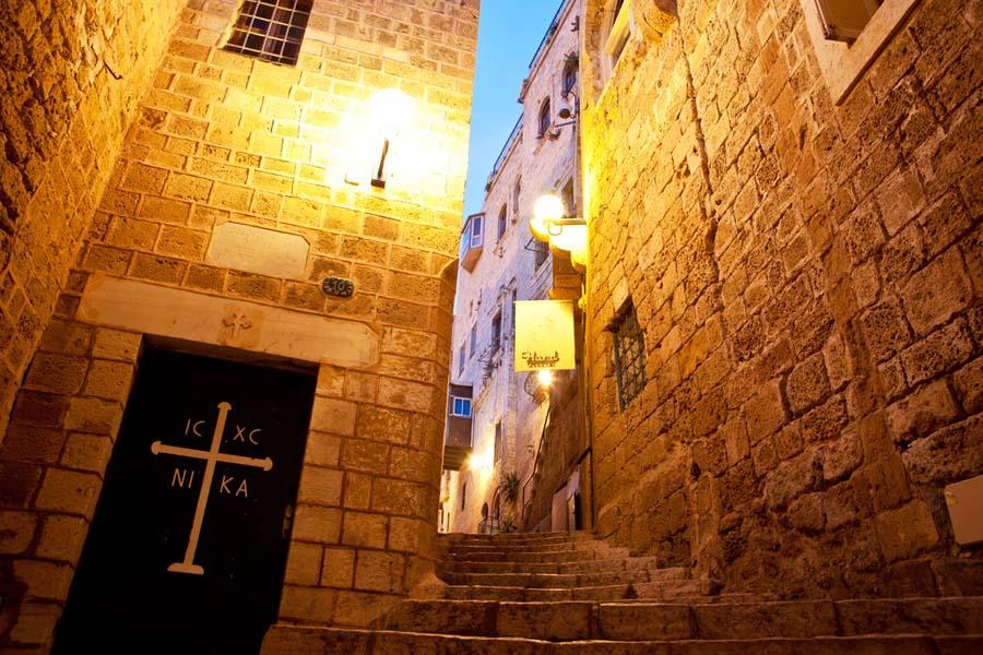 Jerusalemin vanhankaupungin kujilla. Kuva: Israel Tourism.