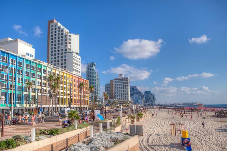 Tel Aviv on hurmaava kaupunki. Kuva: Israel Tourism.