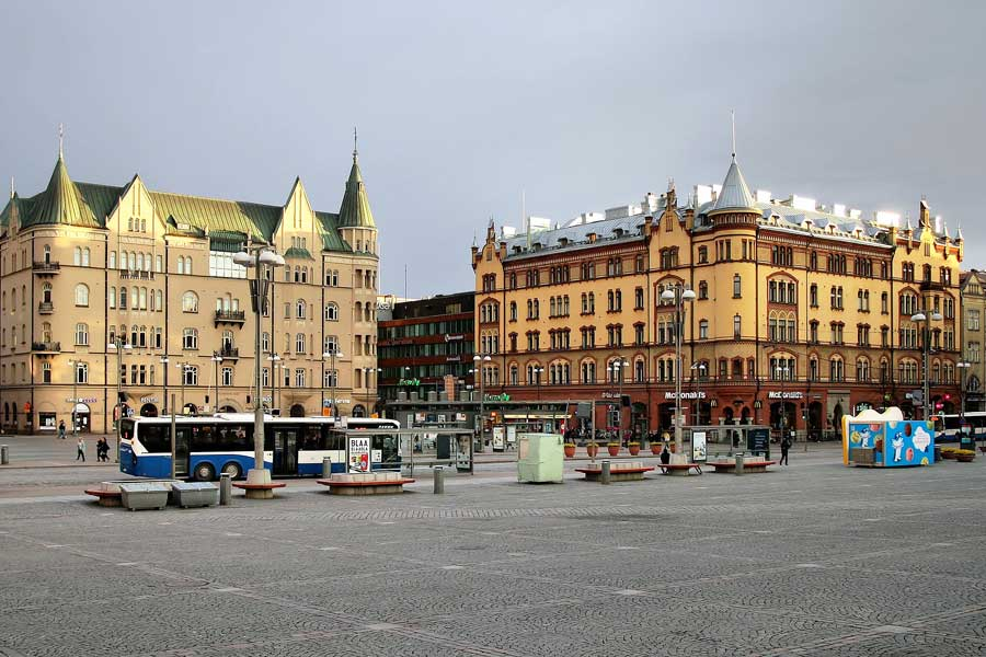 Tampere – Suomen keskeiin kaupunki – Kerran elämässä