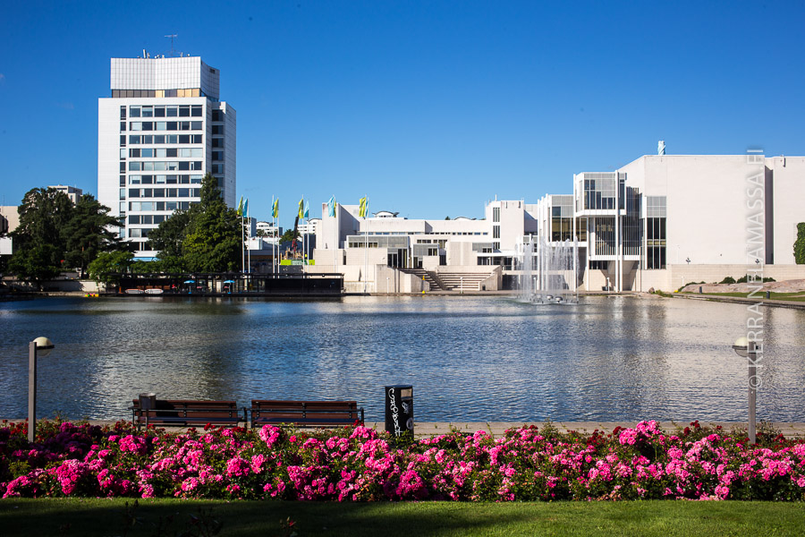 Tapiolan keskusta edusti aikansa kaupunkiutopiaa.