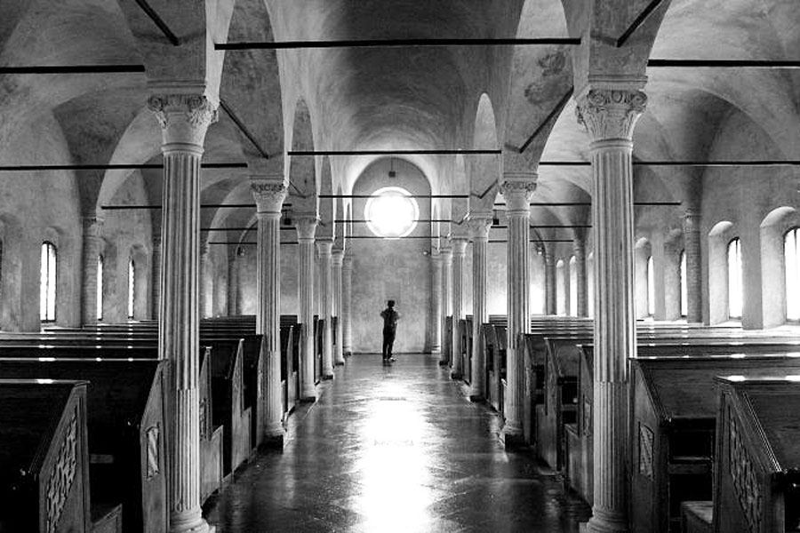 Tältä näyttää maailman vanhin julkinen kirjasto. Kuva: Federico Pelloni, Flickr CC