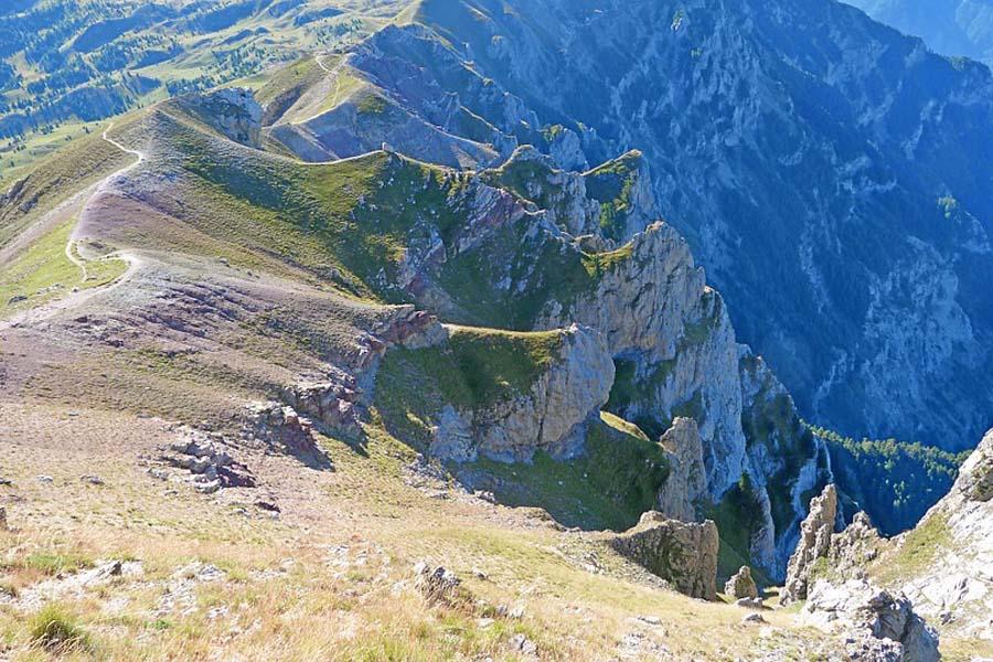 Kreetan vuorilla on upeita vaelluspolkuja.