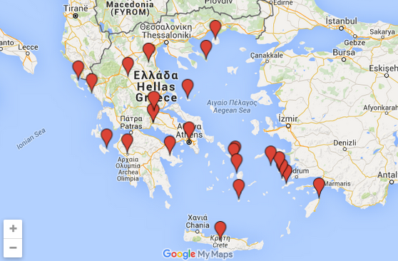 Kreikan Kartta Suomeksi