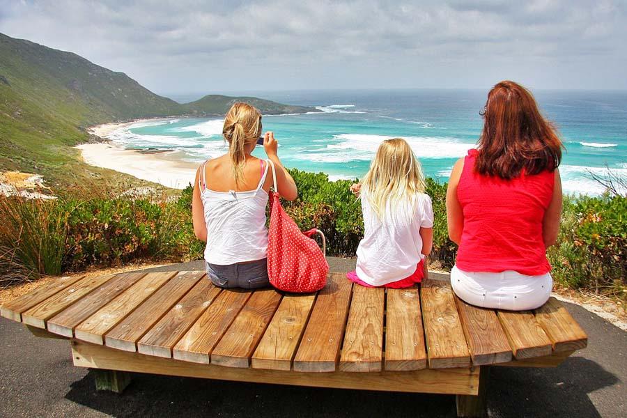 Myös Australian vähän vieraillulta länsirannikolta löytyy upeita rantoja.