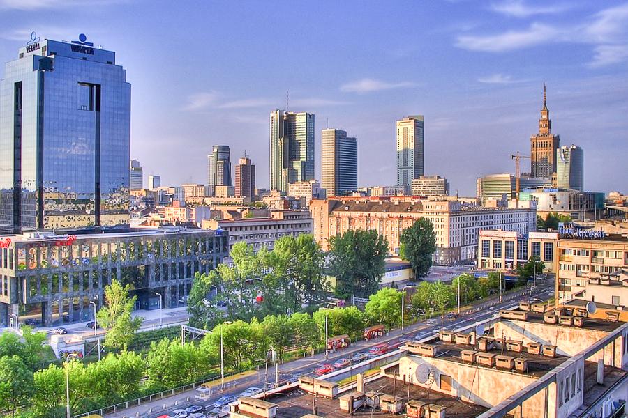 Varsova Tallainen On Puolan Vauhdikas Paakaupunki Kerran Elamassa