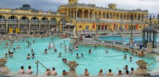 Budapest kylpylä